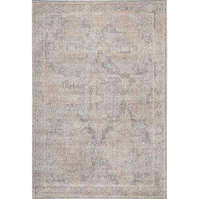 Traditional Cheryl Beige 8 ft. x 10 ft. 3 in. Area Rug