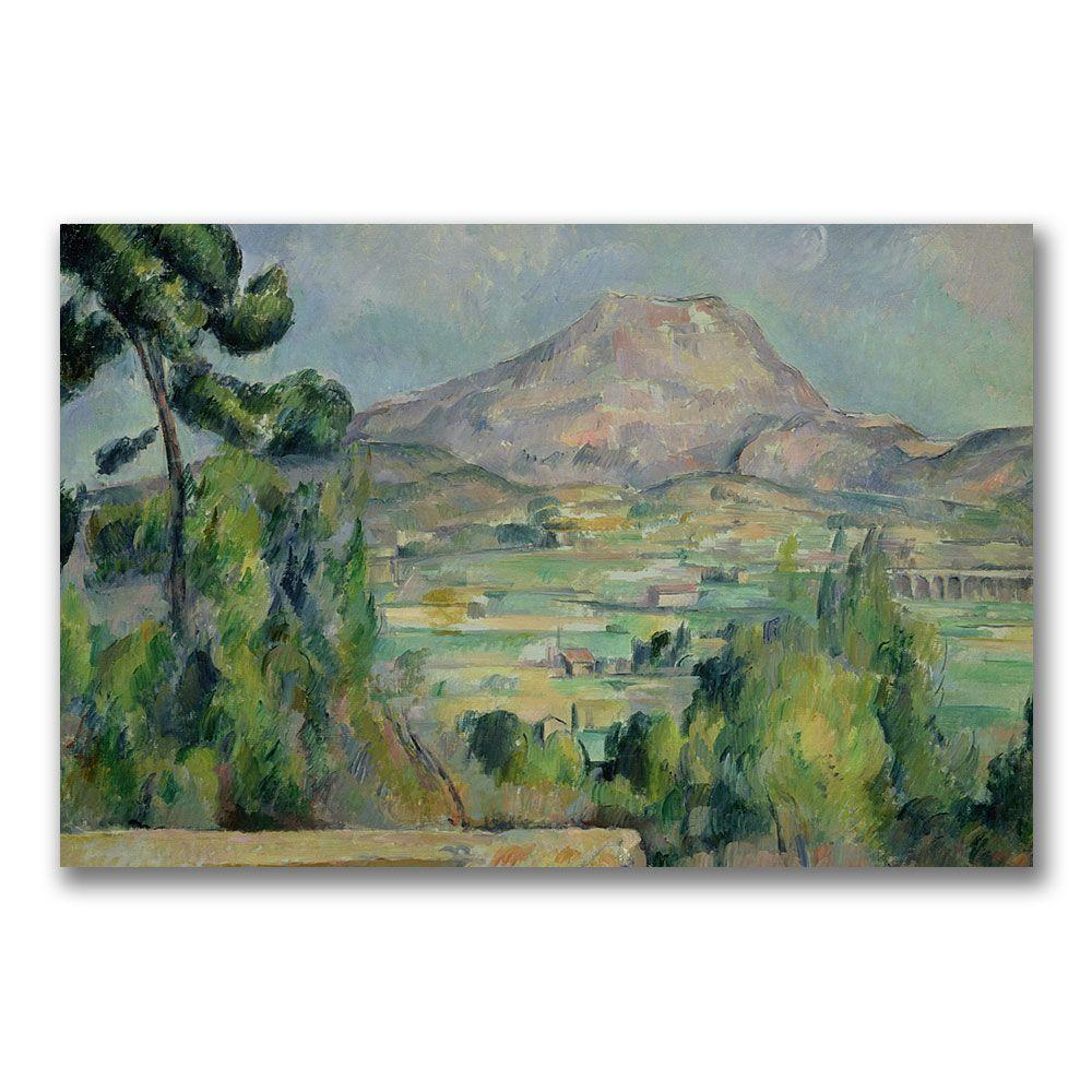 22 in. x 32 in. Montagne Sainte-Victoire III Canvas Art