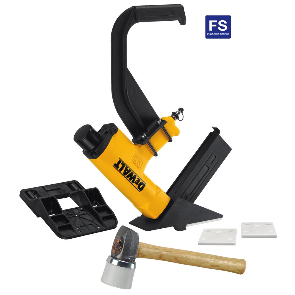 Dewalt Pneumatic 15 5 Gauge Hardwood Flooring Stapler