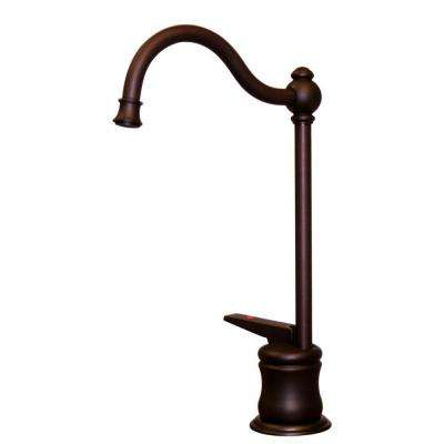 Single-Handle Instant Hot Water Dispenser in Mahogany Bronze