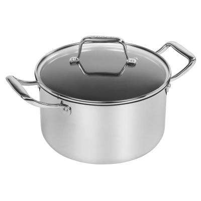 5 Qt. Stainless Steel Dutch Oven with Lid