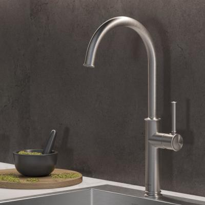 Spot Free Sellette Single-Handle Kitchen Bar Faucet in all-Brite Stainless Steel