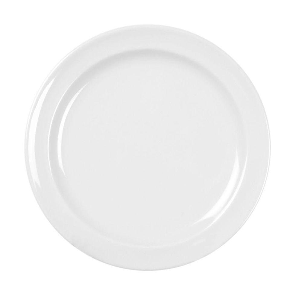 Restaurant Essentials Coleur 7-1/4 in. Dessert Plate in White (12-Piece)