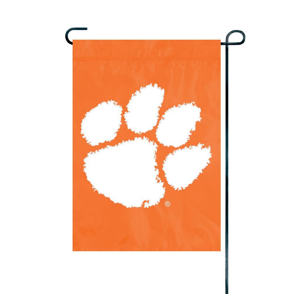 Clemson Tigers Premium Garden Flag