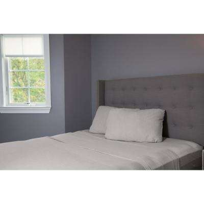 Heather Grey Full/Queen Jersey Pillowcases (2-Pack)