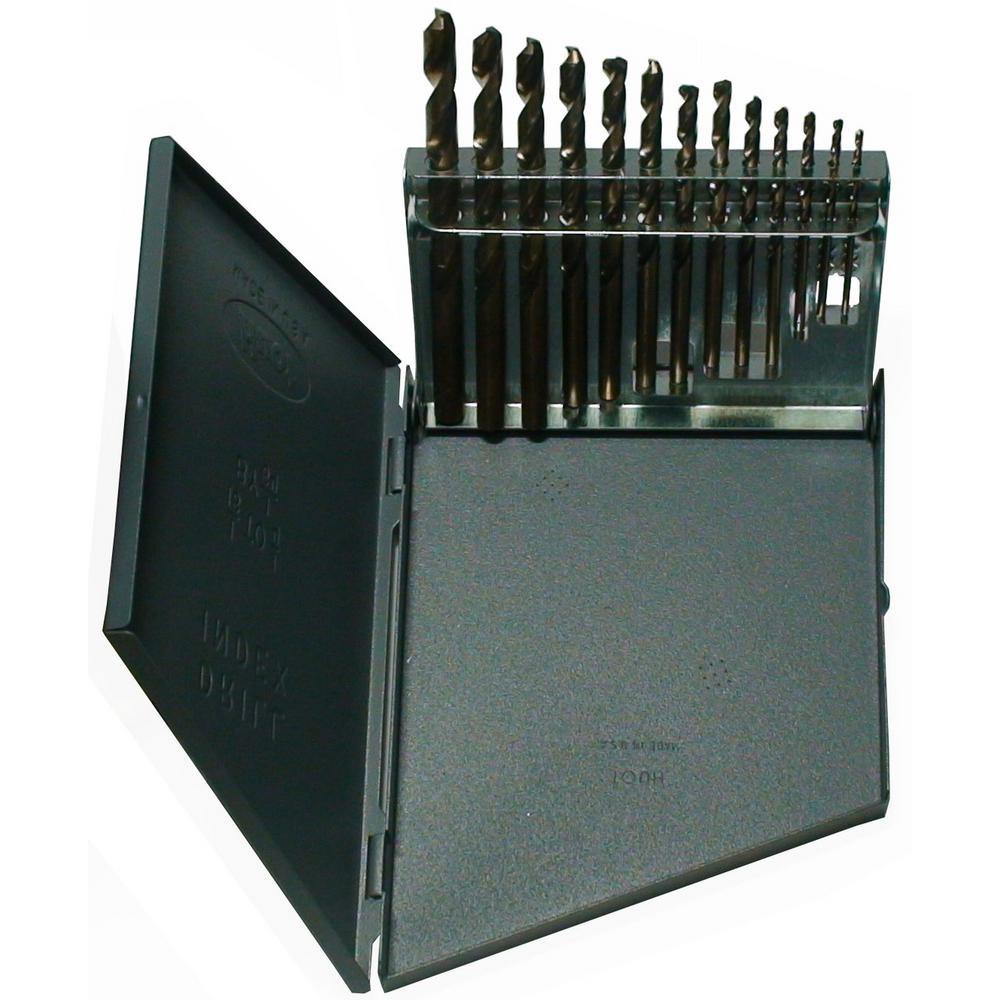 m35 Cobalt Jobber Drill Bit Set (13-Pieces)