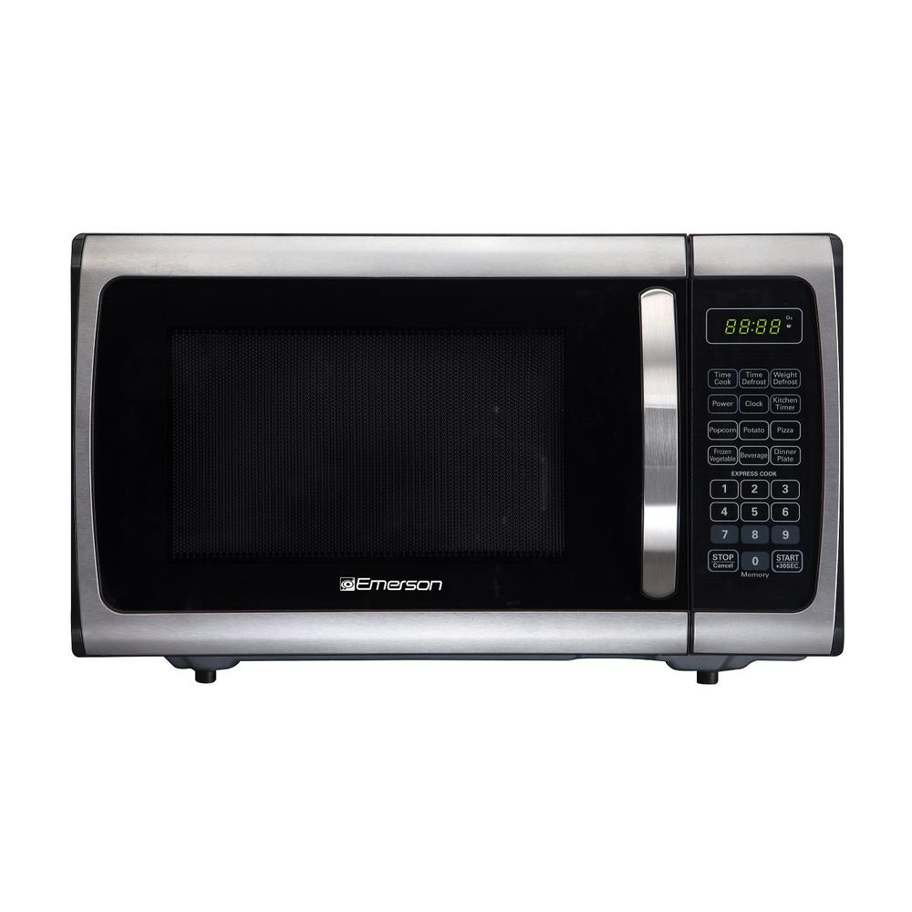 900 Watt Countertop Microwave Oven Stainless Steel