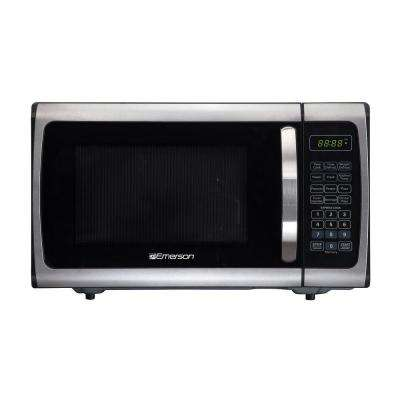 0.9 cu. ft. 900-Watt Countertop, Microwave Oven, Stainless Steel