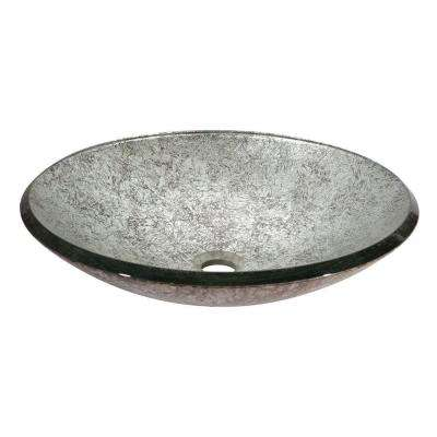 Vessel Sink in Metallic Silver