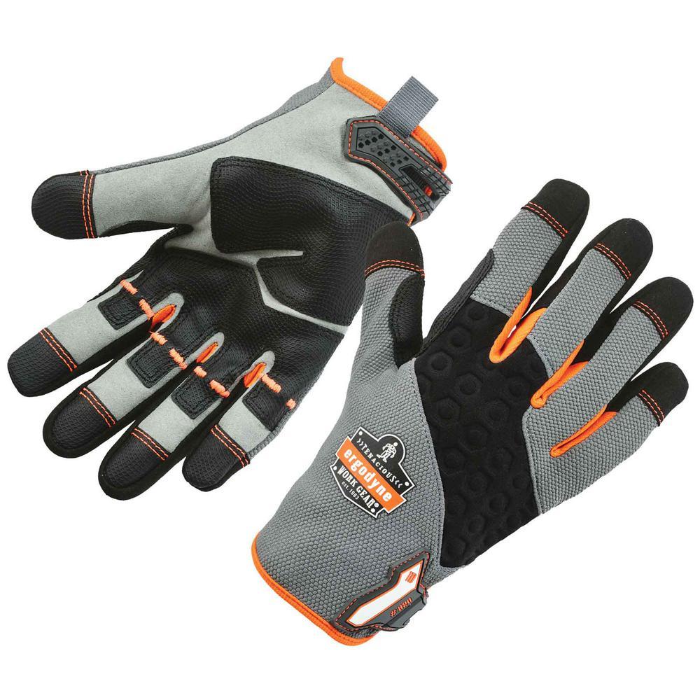 ProFlex Small Gray High Abrasion Handling Work Gloves