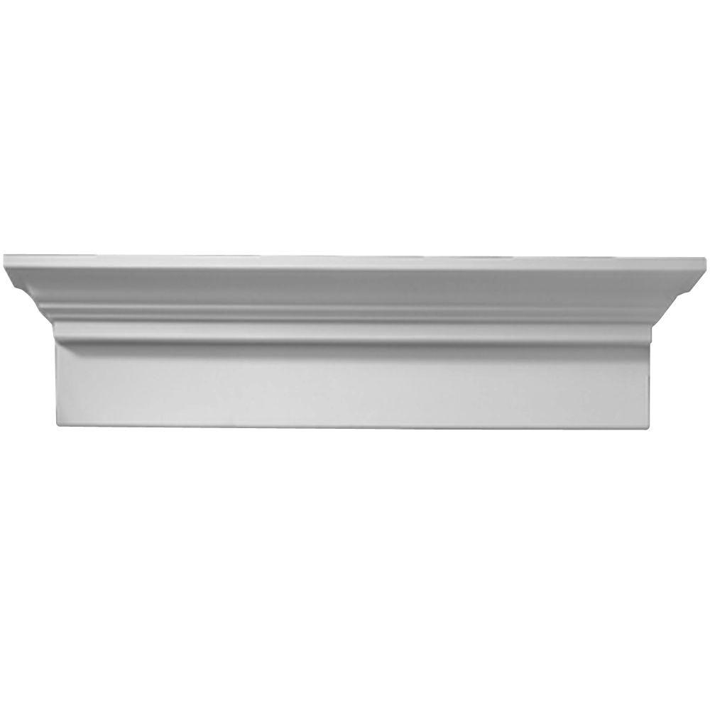 32 in. x 9-11/16 in. x 4-9/16 in. Polyurethane Window and