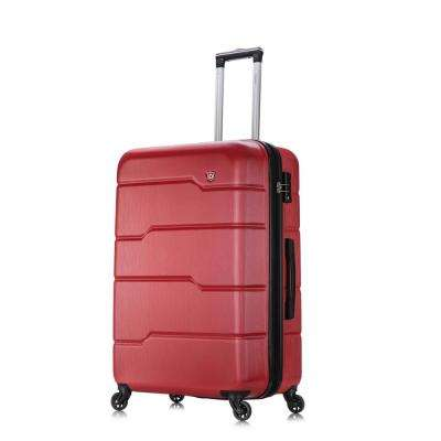 Rodez 28 in. Red Lightweight Hardside Spinner