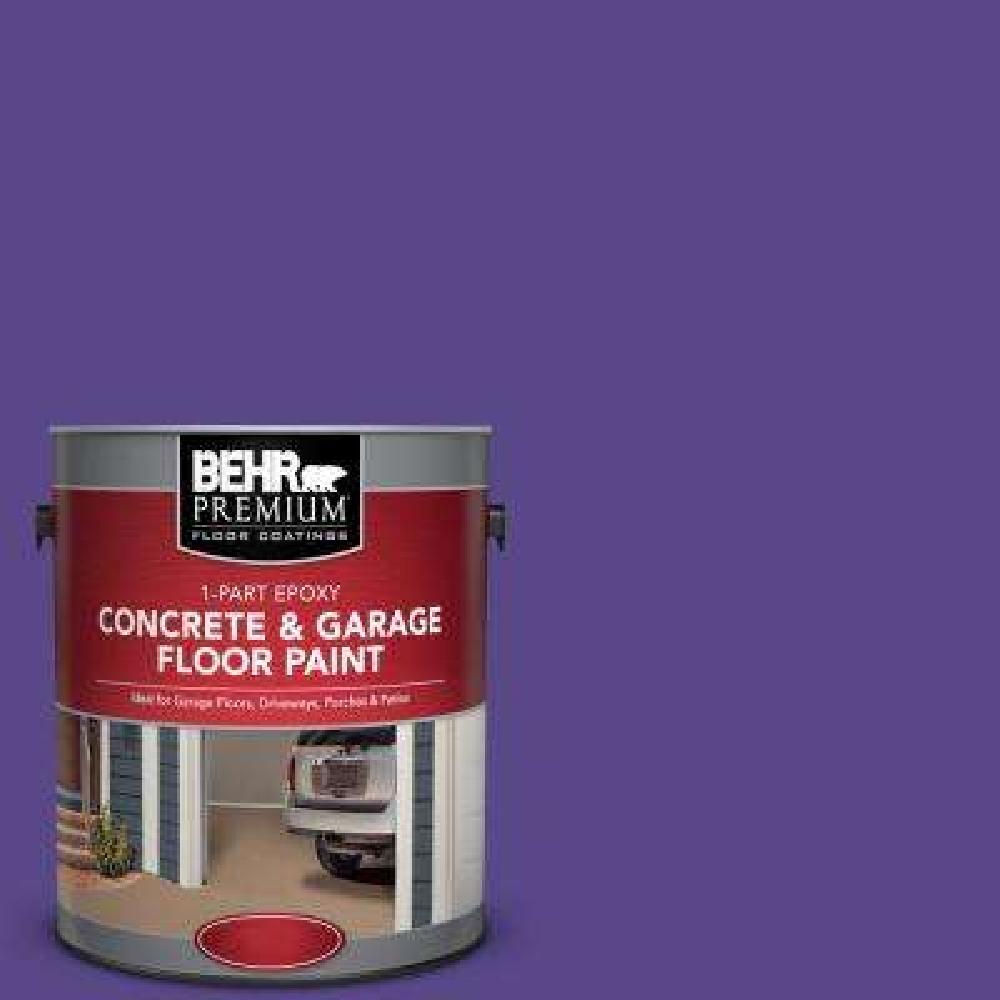 1 gal. #P560-7 Kings Court 1-Part Epoxy Satin Interior/Exterior Concrete and Garage Floor Paint