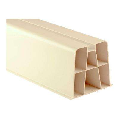 17 in. Polypropylene Bolt Down Mounting Blocks for Condensing Unit (2-Pack)