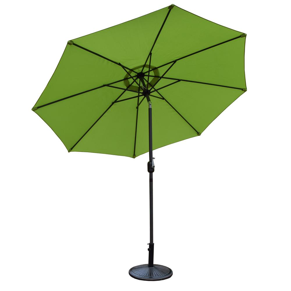 9 ft. tilt patio umbrella and cast iron patio umbrella base 9 Ft Umbrella Base