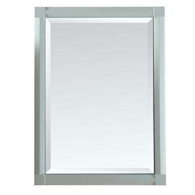 Sutton 23.50 in. x 32 in. Surface Mount Medicine Cabinet in Rainwater