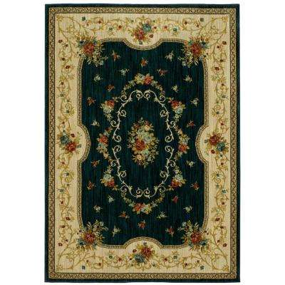 Kallista Blue 5 ft. x 8 ft. Area Rug