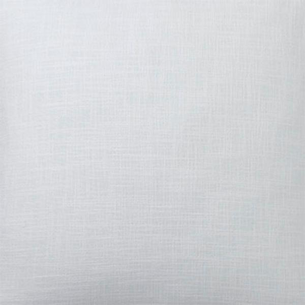 The Company Store Concord White Large Boudoir Pillow Cover, 16 in. x