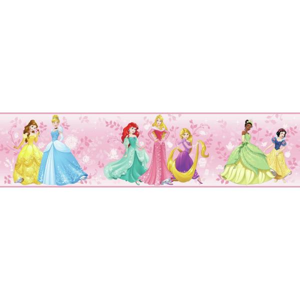 York Wallcoverings Disney Kids III Disney Princess Border