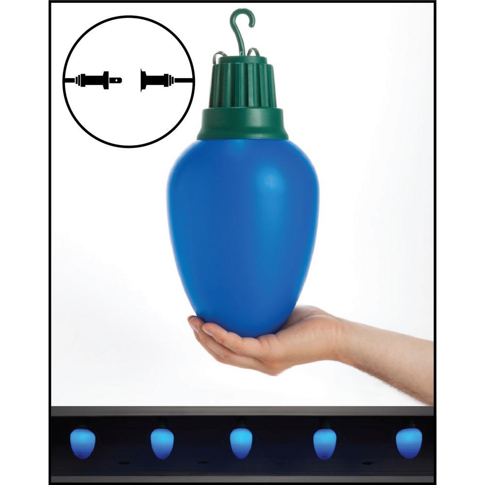 LED C9 - Blue