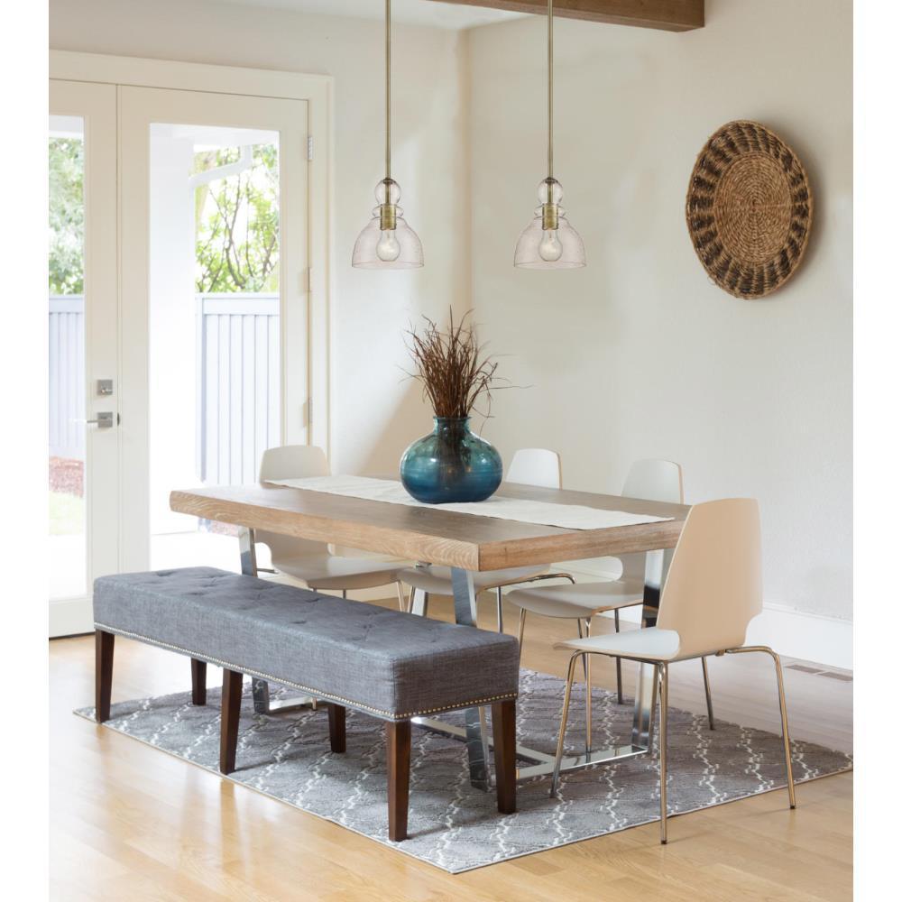Awe Inspiring Westinghouse 1 Light Antique Brass Mini Pendant Interior Design Ideas Tzicisoteloinfo