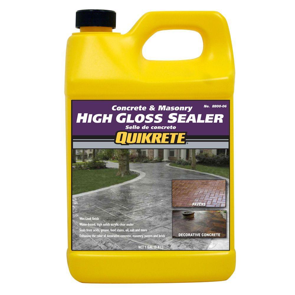 Quikrete Concrete and Masonry 5 lb. High Gloss Sealer