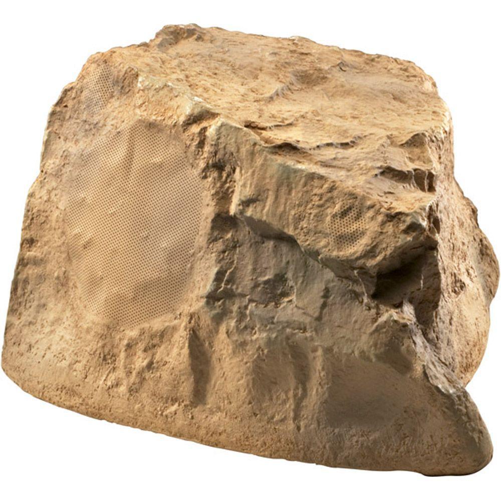 8 in. 200-Watt Dual Voice Coil Terra-Forms Stone Speaker