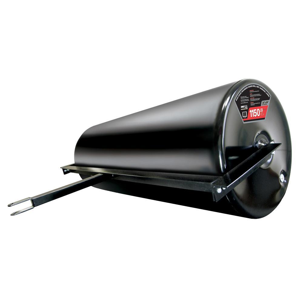 24 in. x 60 in. 1150 lbs. Professional Grade Steel Lawn Roller