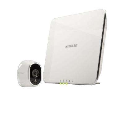 Arlo Smart Home Wireless 1280TVL Indoor/Outdoor Security Camera with Night Vision