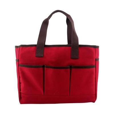 Red Utility Tote Bag