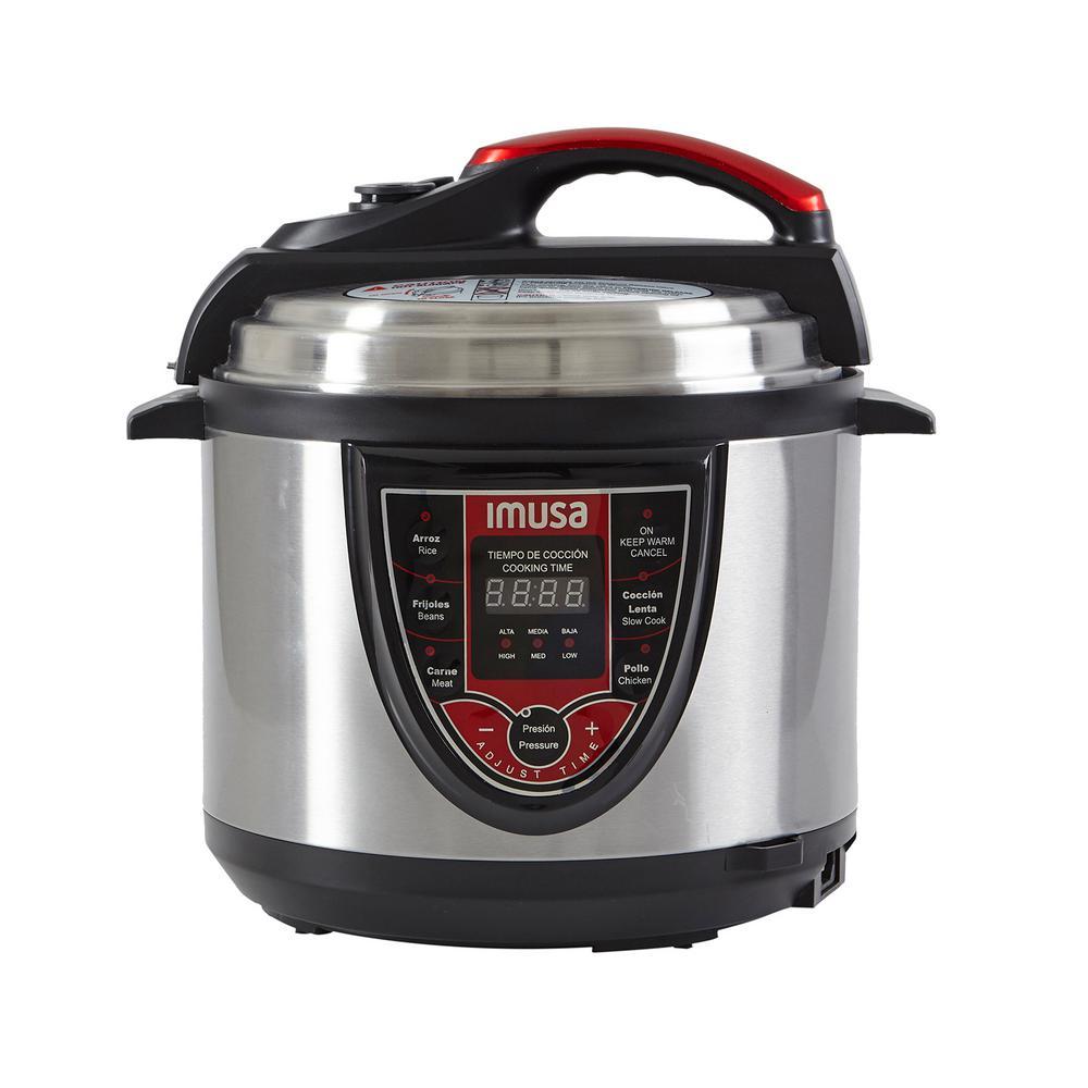 5 Qt. Digital Pressure Cooker in Red