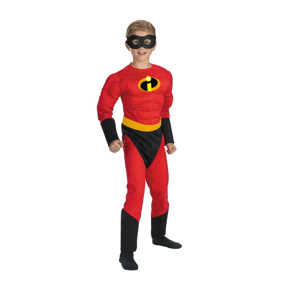 Small Mr. Incredible Muscle Child Costume