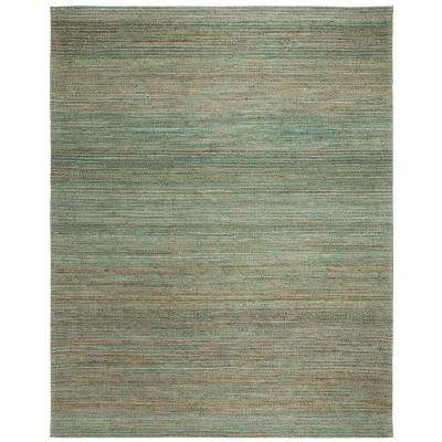 Cape Cod Sage/Natural 8 ft. x 10 ft. Area Rug