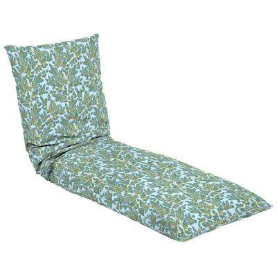 Artisans 76 in. x 25 in. Eugene Leaf Outdoor Throw Bed
