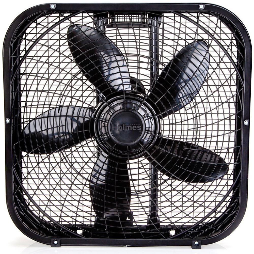Most Powerful Floor Fans : Holmes in speed box fan hbf dpbm the home depot