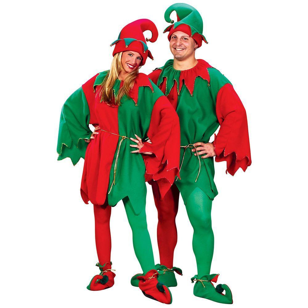Unisex Economy Elf Set for Adult