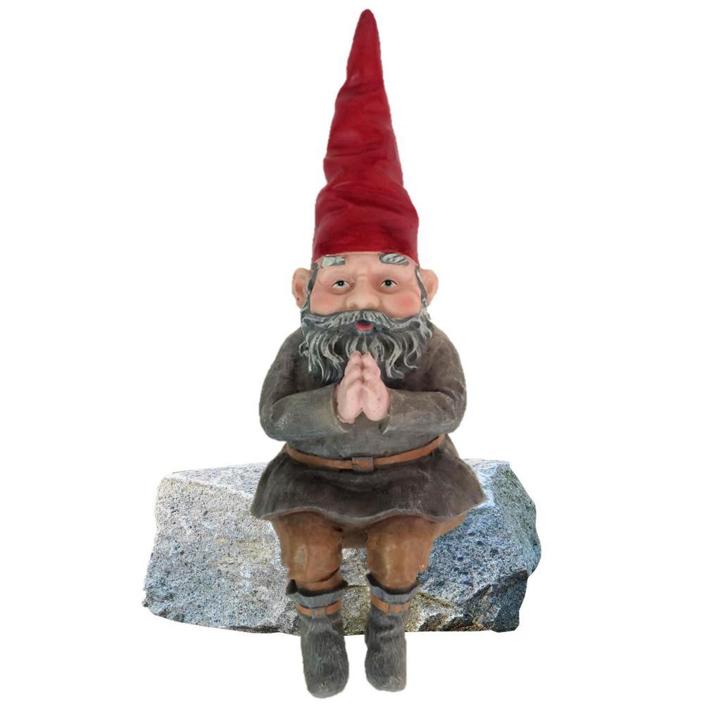 Mordecai The Gnome Shelf Sitter Statue