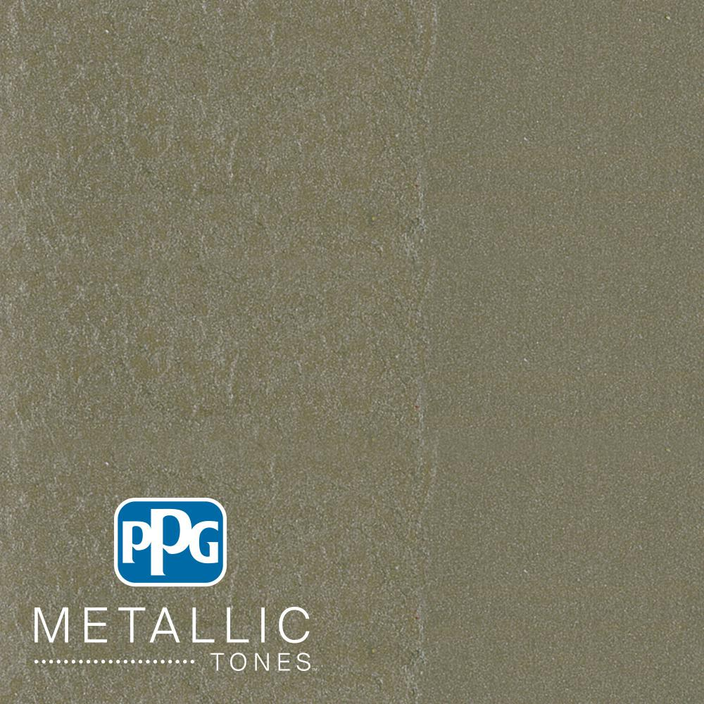 1 gal. #MTL124 Fabled Foliage Metallic Interior Specialty Finish Paint