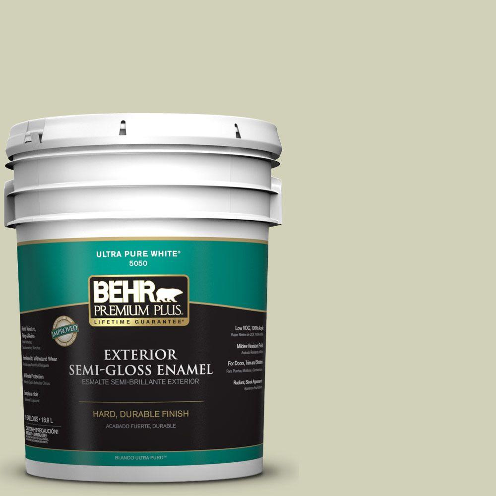 5-gal. #S360-2 Breathe Semi-Gloss Enamel Exterior Paint