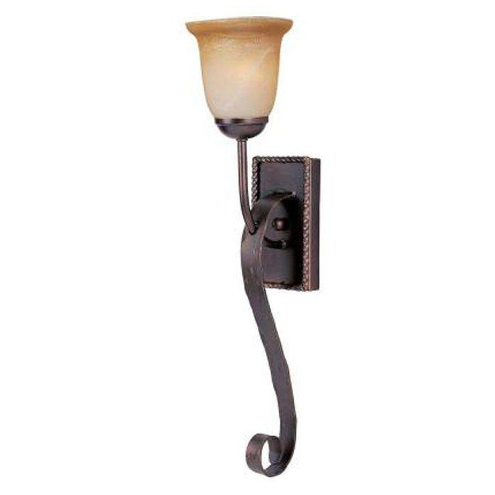 Aspen 1-Light Oil-Rubbed Bronze Sconce