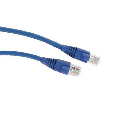 GigaMax 10 ft. Cat 5e Patch Cord, Blue