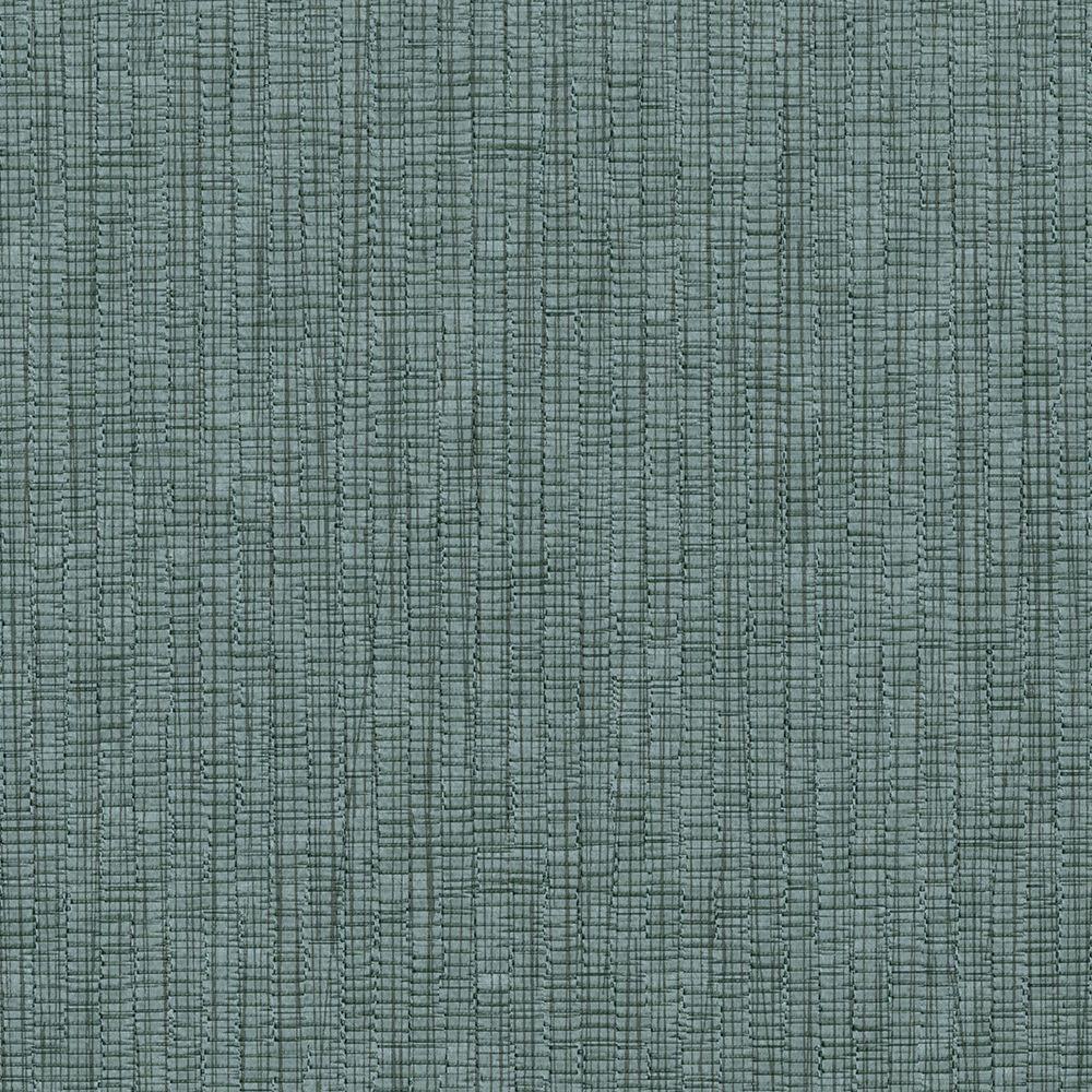 Slate Raffia Texture Wallpaper