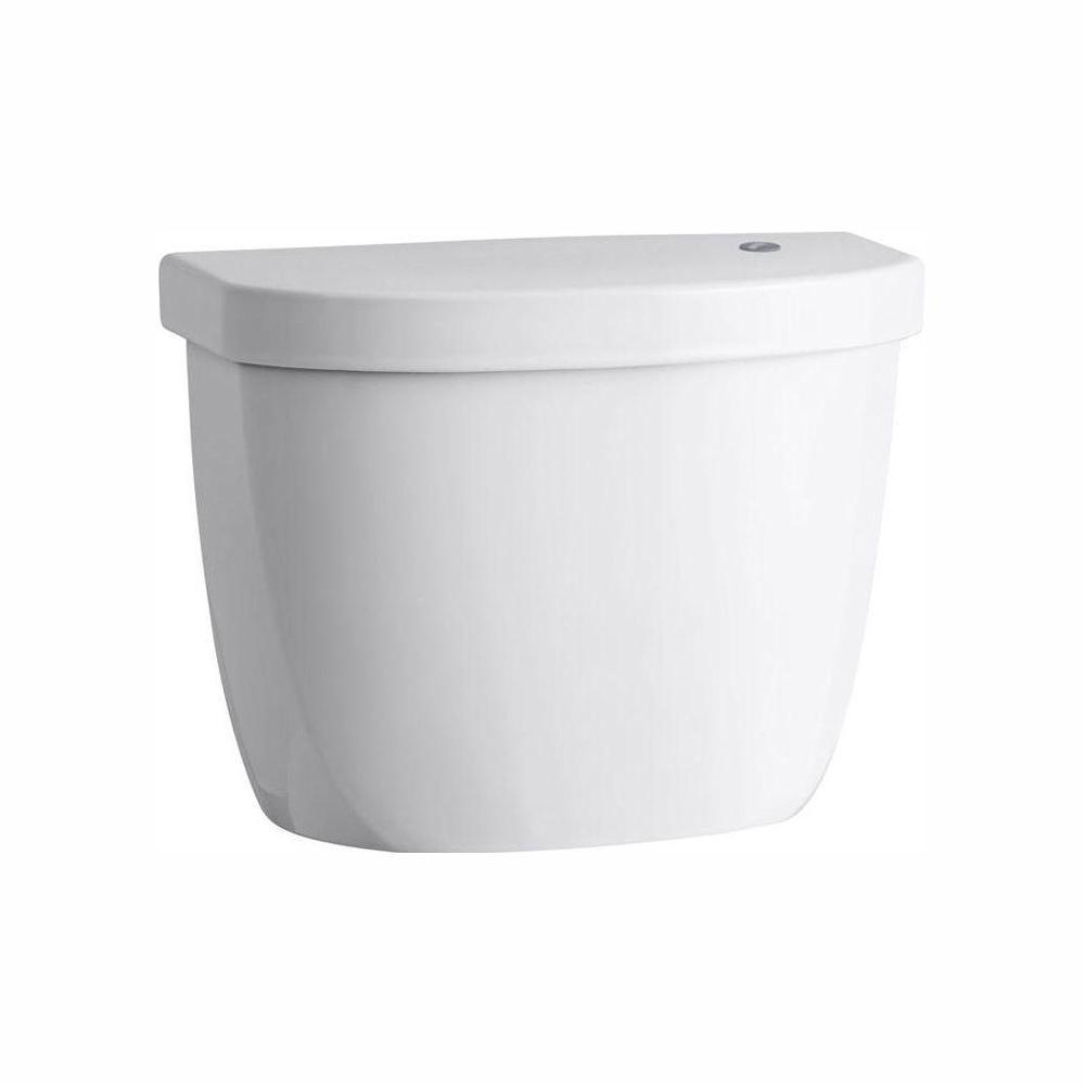 KOHLER Cimarron Touchless 1.28 GPF Single Flush Toilet Tank Only in White