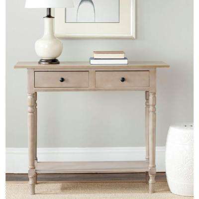 Gray console tables accent tables the home depot american home vintage gray storage console table watchthetrailerfo