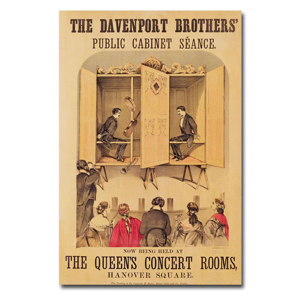 22 in. x 32 in. The Davenport Brothers 1865 Canvas Art-BL00175 ...