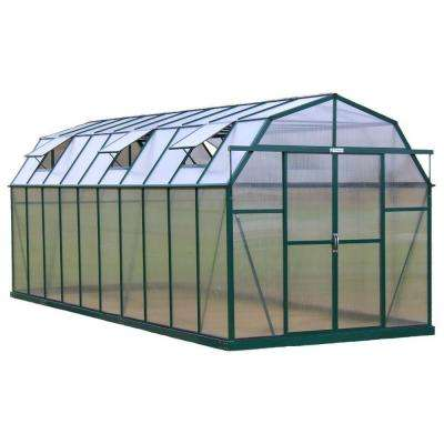 Elite 8 ft. W x 20 ft. D x 8 ft. H Heavy-Duty Aluminum Greenhouse Kit