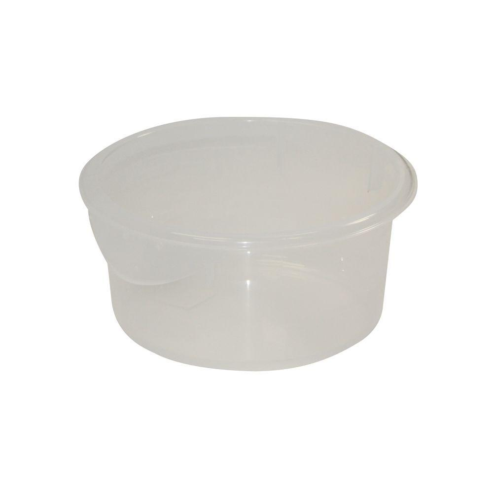 Rubbermaid Commercial Products 2 qt Clear Round Storage Container