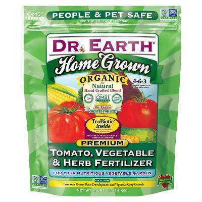 4 lbs. 60 sq. ft. Home Grown Tomato Vegetable and Herb Dry Fertilizer