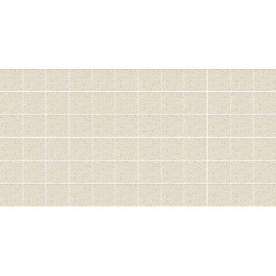 Keystones Unglazed Pepper White 12 in. x 24 in. x 6 mm Porcelain Mosaic Floor and Wall Tile (24 sq. ft. / case)