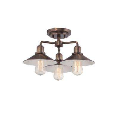 Newbury Station 1-Light Old Satin Brass Wall Sconce  sc 1 st  The Home Depot & Incandescent - Designers Fountain - Sconces - Lighting - The Home ... azcodes.com